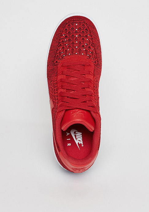 NIKE Air Force 1 Flyknit Low university red/university red/white