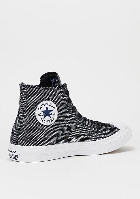 Converse Schoen CTAS II Knit Hi black/black/white
