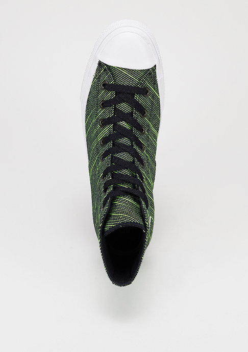 Converse Schoen CTAS II Knit Hi black/volt green/white