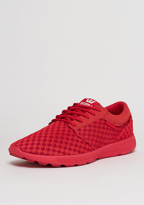 Supra Schuh Hammer Run red/red/red