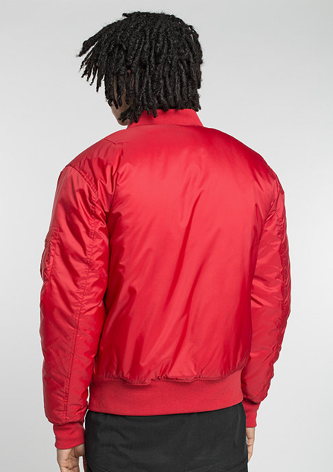Urban Classics Jas Basic Bomber fire red