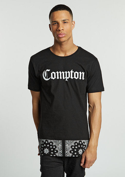 Artist by Mister Tee T-Shirt Compton Extended Bandana black
