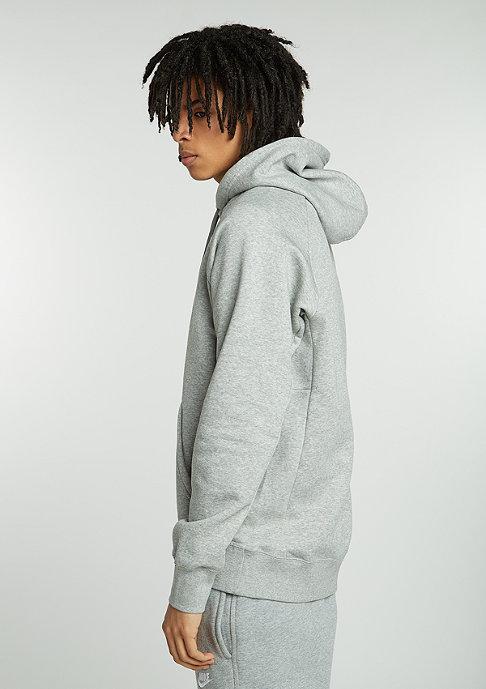 NIKE SB Hooded-Sweatshirt Icon PO Stripe dark grey heather/white