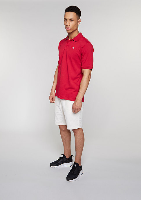 NIKE SB Poloshirt Dri-Fit Pique gym red/white