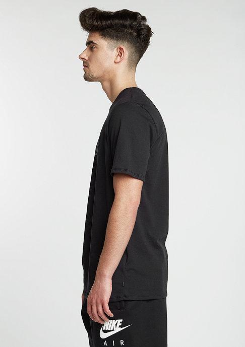NIKE SB T-Shirt Dri-Fit Icon Logo black/white/tumbled grey