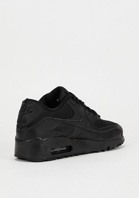 NIKE Schuh Air Max 90 Mesh (GS) black/black