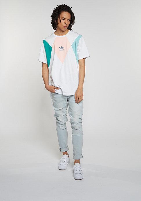 adidas T-Shirt Tennis vintage white