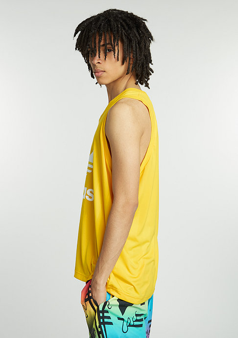 adidas Tanktop Trefoil equipment yellow