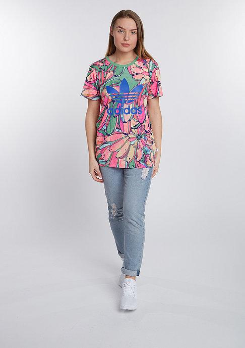 adidas T-Shirt BF Trefoil multicolor