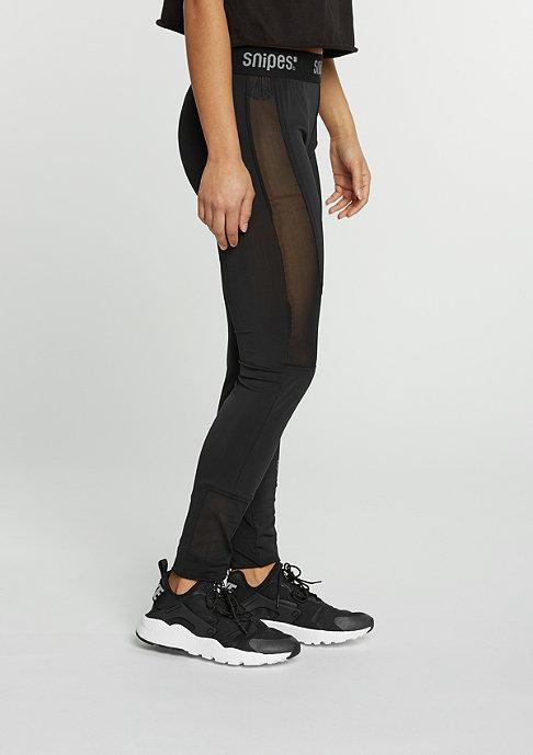 SNIPES Leggings Bikertech black/black