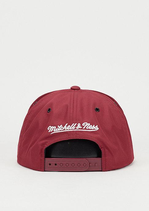 Mitchell & Ness Snapback-Cap Board burgundy