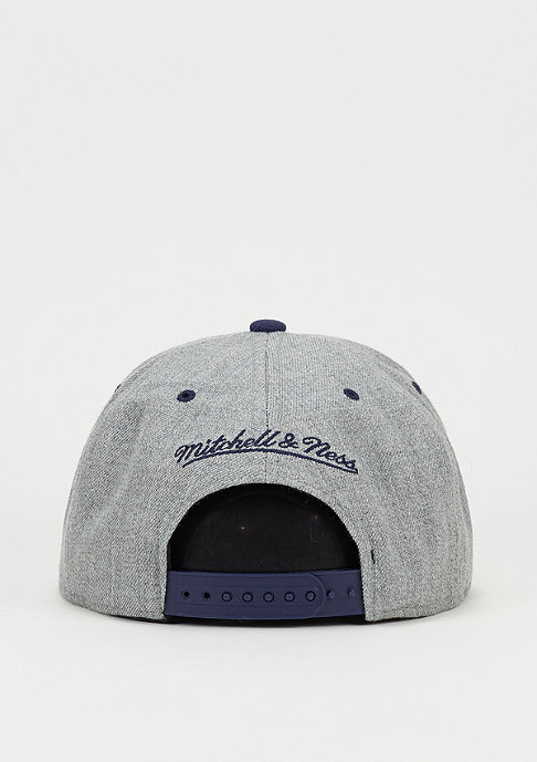 Mitchell & Ness Snapback-Cap Heather Crown MLS Los Angeles Galaxy grey
