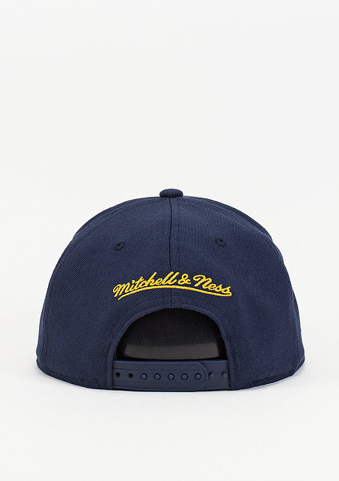 Mitchell & Ness Wool Solid NBA Indiana Pacers navy