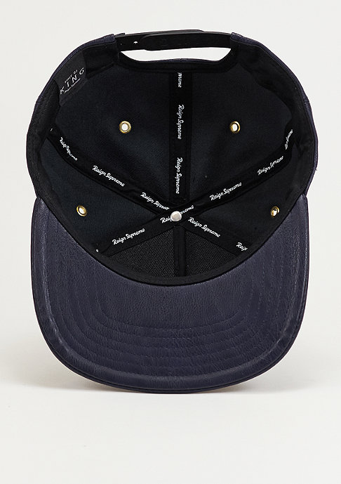 King Apparel Snapback-Cap Luxe Navy