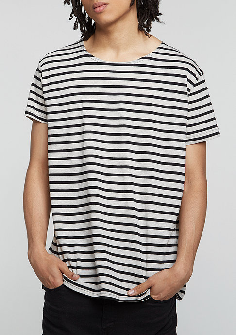 Cheap Monday T-Shirt Standard Stripe Psyched sand