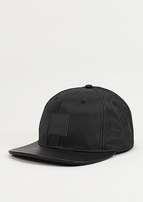 King Apparel Snapback-Cap Black Label black