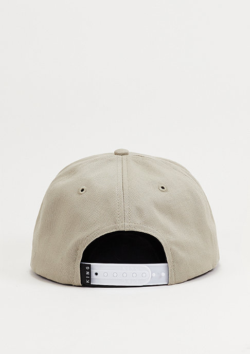 King Apparel Snapback-Cap 8 Bit grey