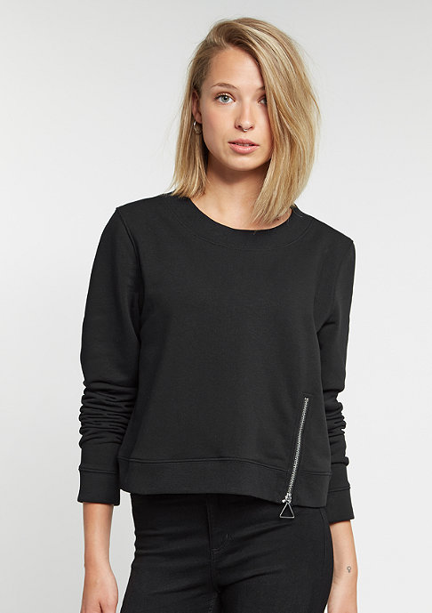 Cheap Monday Sweatshirt Exact Zip black