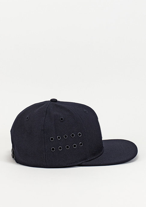 King Apparel Snapback-Cap Vent navy
