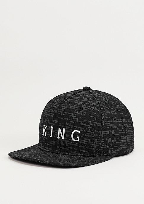 King Apparel Snapback-Cap Matrix black