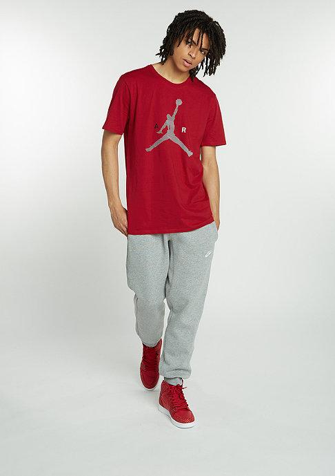 JORDAN Air Jumpman gym red/wolf grey