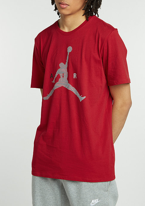 JORDAN Air Jumpman gym red/wolf grey