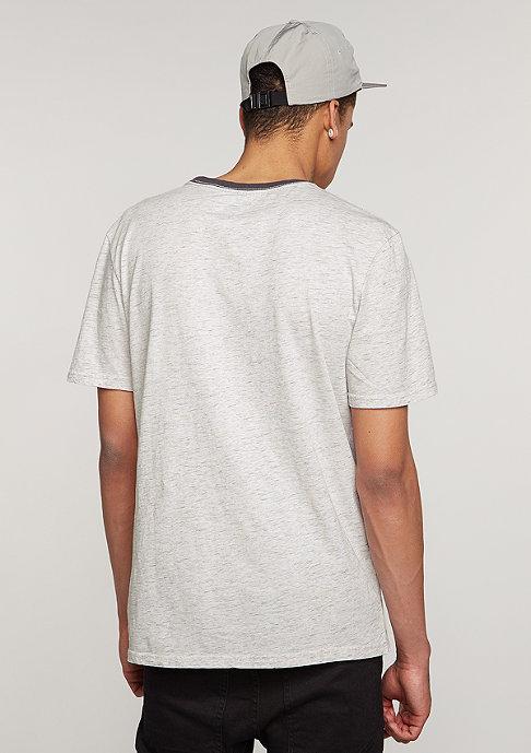 Brixton T-Shirt Hilt heather stone