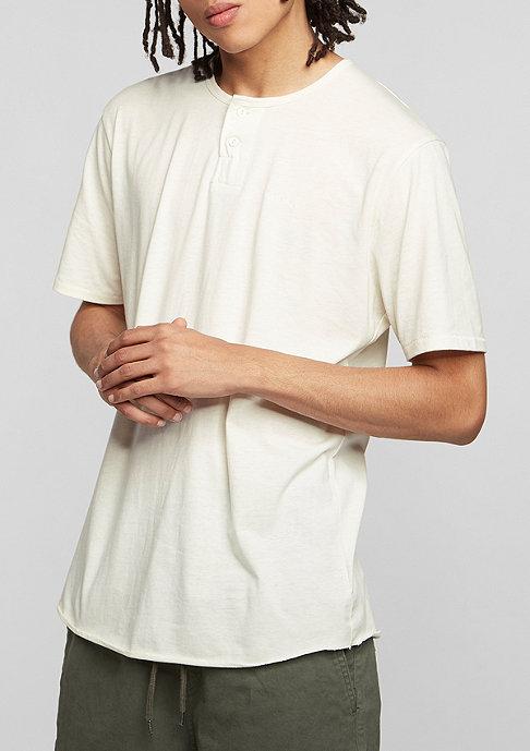 Brixton T-Shirt Berkley Henley off white