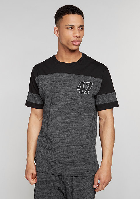 LRG RC Heather Football Jersey black