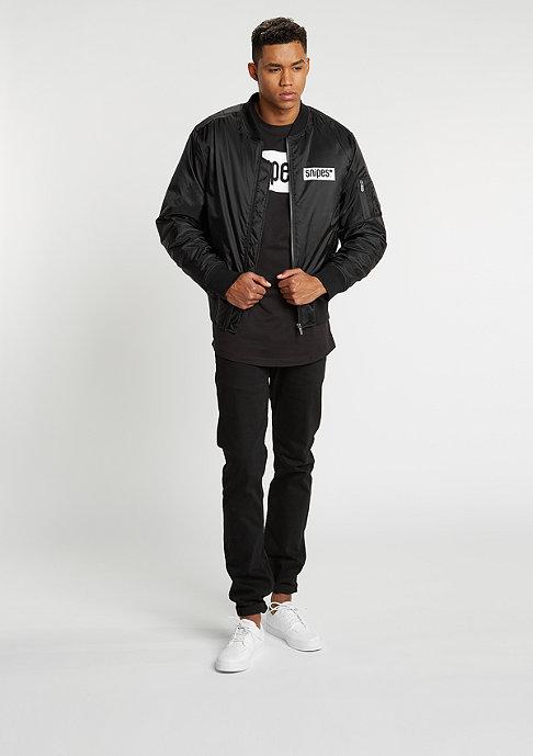 SNIPES T-Shirt Box Logo black/white