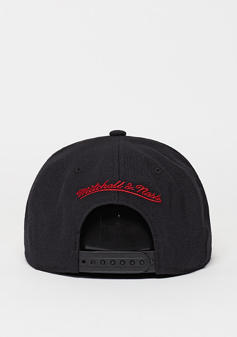 Mitchell & Ness Snapback-Cap Wool Solid NBA Miami Heat black