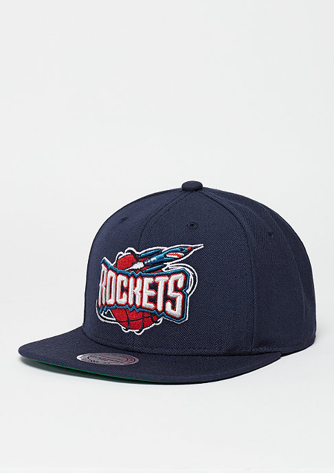 Mitchell & Ness Snapback-Cap Wool Solid HWC Houston Rockets navy