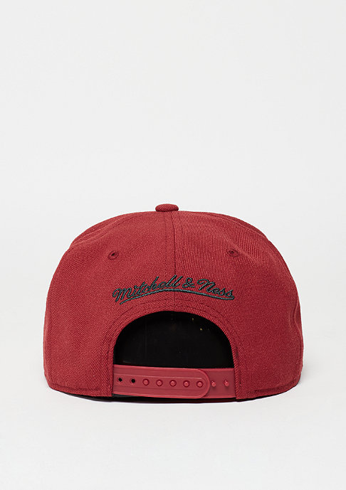 Mitchell & Ness Snapback-Cap Wool Solid HWC Seattle Supersonics red