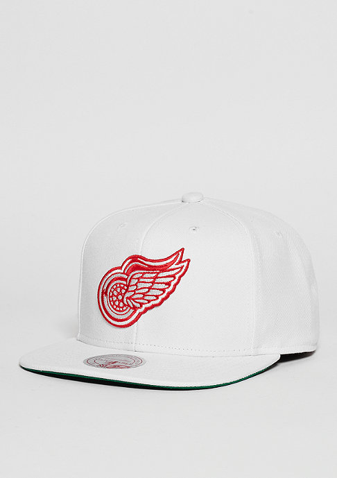 Mitchell & Ness Wool Solid NHL Detroit Red Wings white