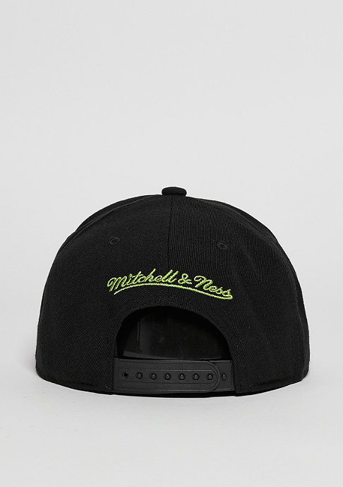 Mitchell & Ness Snapback-Cap Wool Solid MLS Seattle Sounders green
