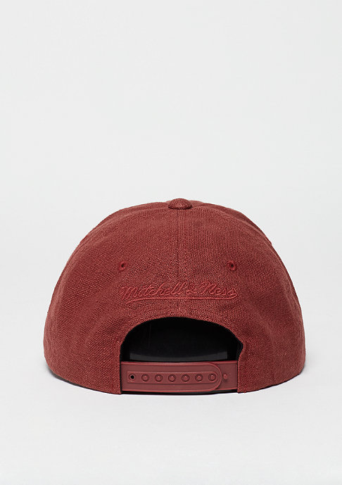 Mitchell & Ness Linen Slouch red