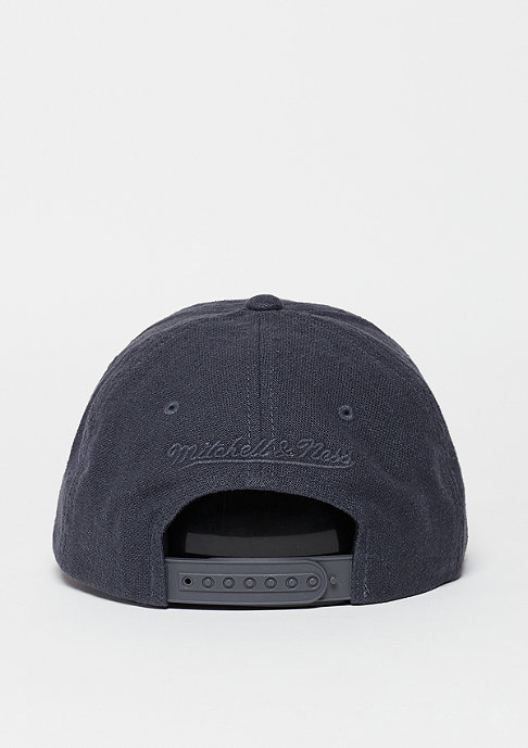 Mitchell & Ness Snapback-Cap Linen Slouch grey