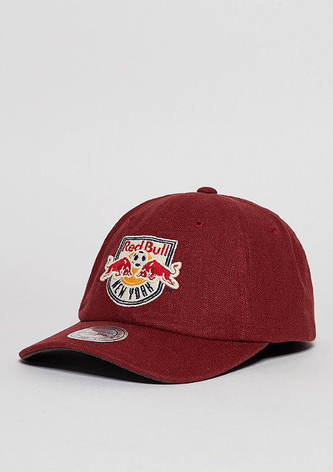 Mitchell & Ness Linen Slouch MLS New York Red Bulls red