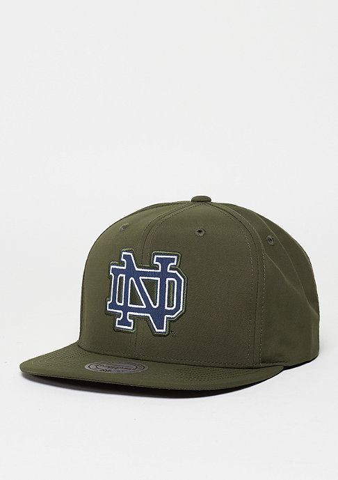 Mitchell & Ness Milo NCAA Notre Dame Fightin Irish green