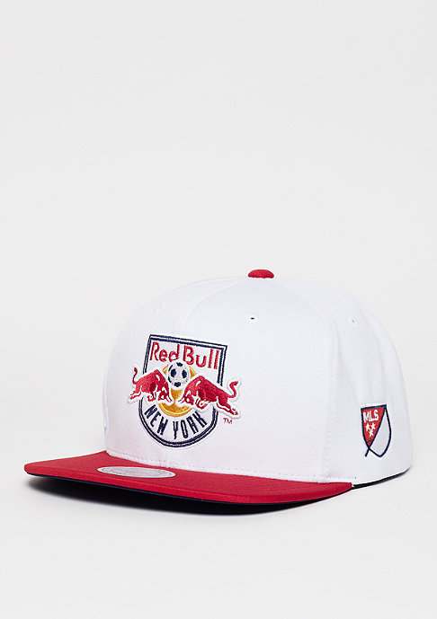 Mitchell & Ness D Memory MLS New York Red Bulls white