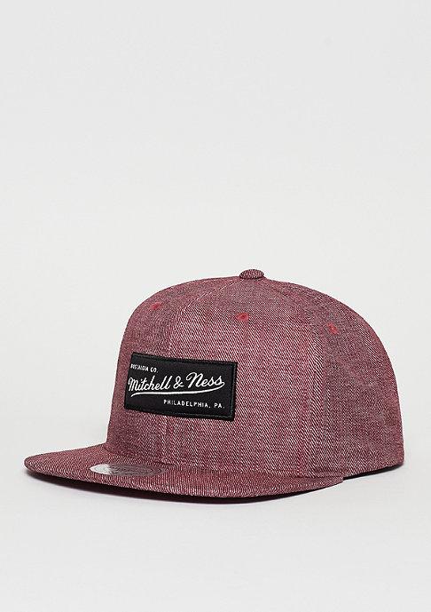 Mitchell & Ness Snapback-Cap Hydro burgundy