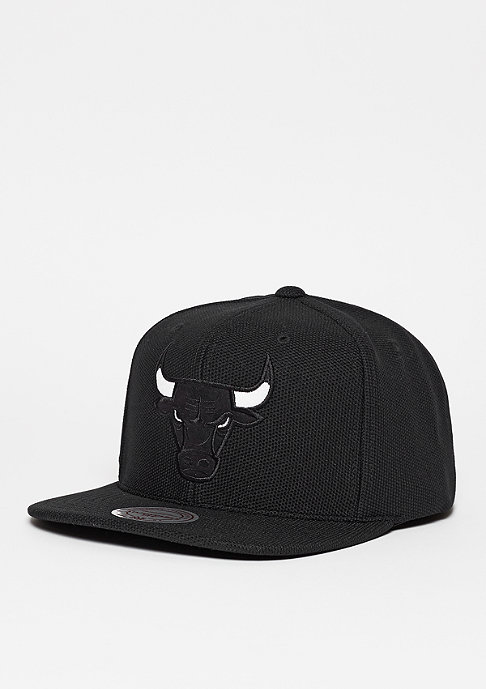 Mitchell & Ness Snapback-Cap Poly Knit NBA Chicago Bulls dark grey