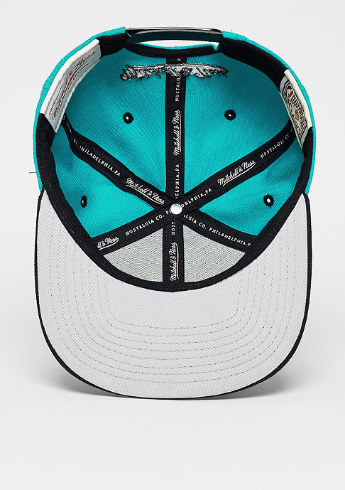 Mitchell & Ness Snapback-Cap Team Arch HWC Vancouver Grizzlies teal