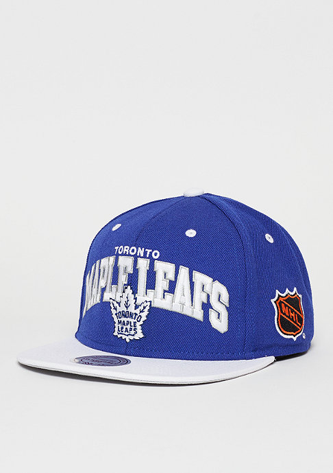Mitchell & Ness Snapback-Cap Team Arch NHL Toronto Maple Leafs blue