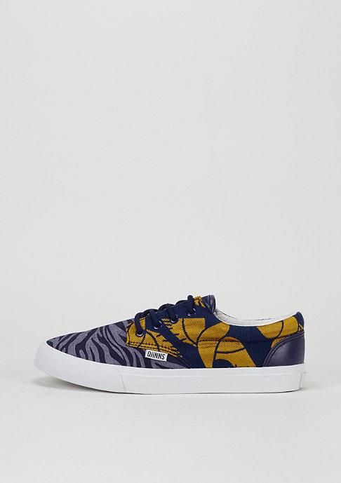 Djinn's Schuh Nice Crazy Pattern navy/zebra