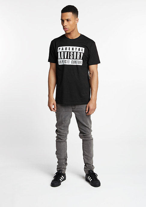 Artist by Mister Tee T-Shirt Parental Advisory black
