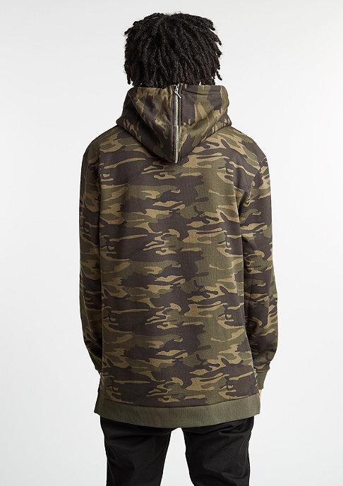 Future Past Hoodie Long Hood-Zip camo