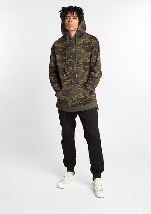 Future Past Hooded-Sweatshirt Long Hood-Zip camo