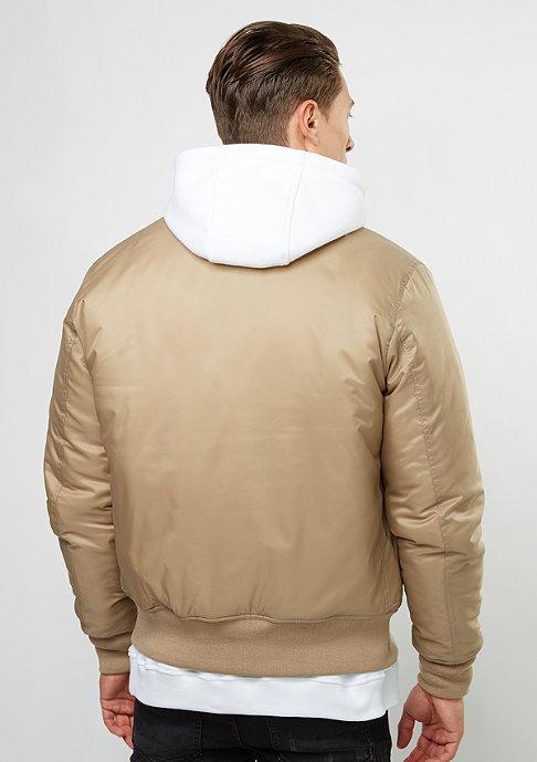 Urban Classics Basic Bomber beige