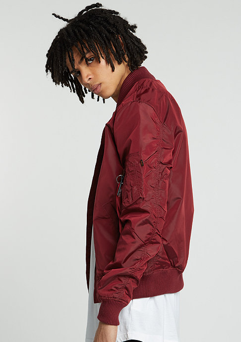 Alpha Industries Jas MA-1 TT burgundy